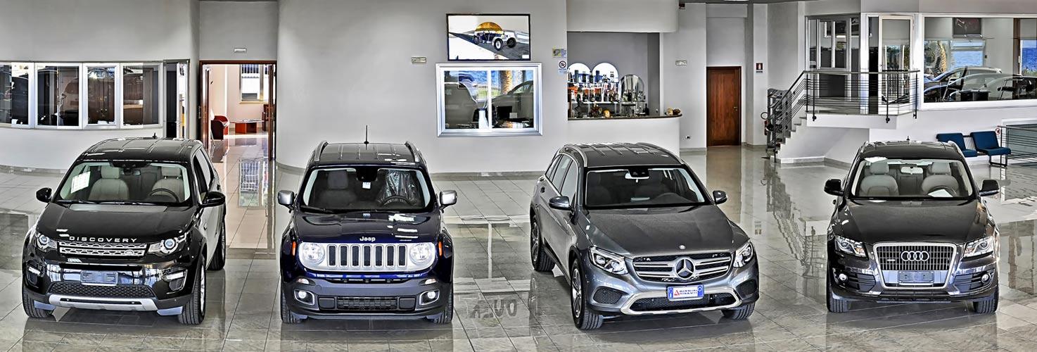 vasta scelta di auto nuove a prezzi competitivi