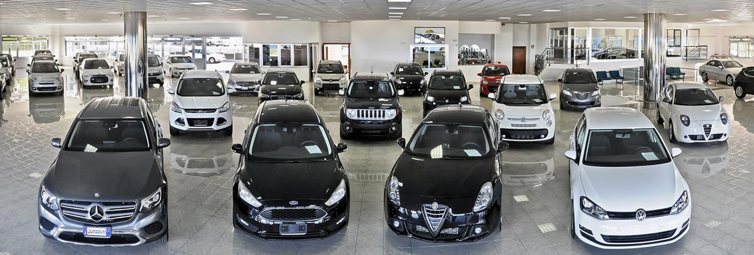 oltre 300 auto usate e aziendali di tutte le marche